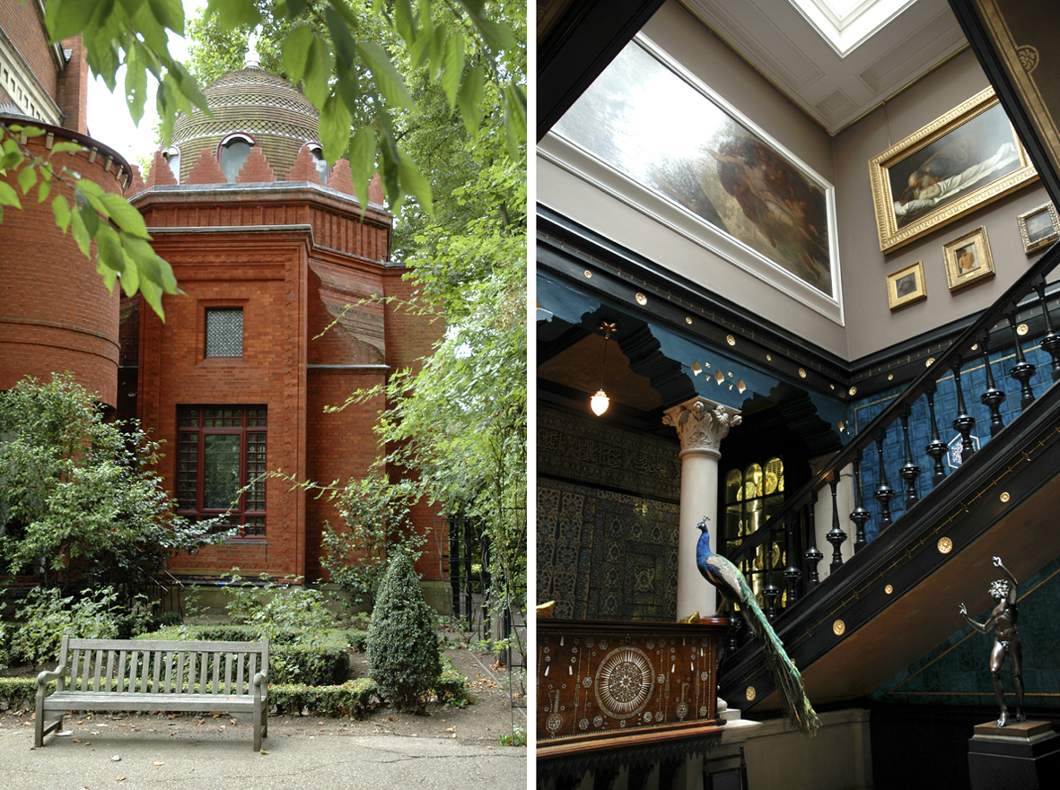 The House of an Artist in London • an Artist Home in London