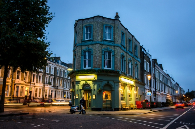 Finborough Arms, near Earls Court